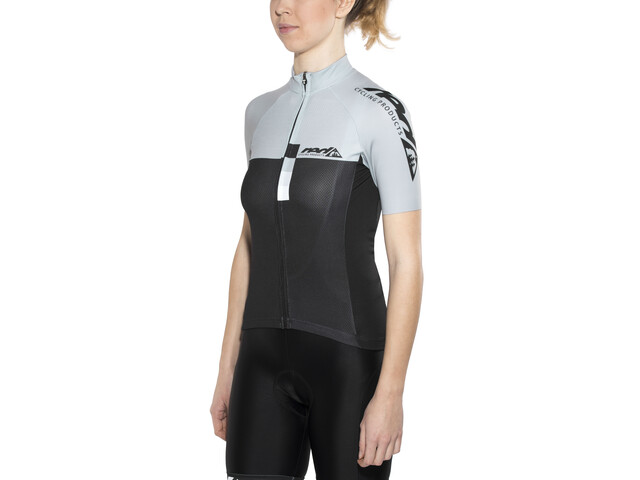 Red Cycling Products Pro Race Maillot de cyclisme Femme, grey-black